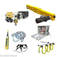 10-Ton Overhead Crane Complete Kit by Street Crane - Up to 70 ft Span