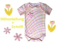 Schnitt+ Nähanleitung Babybody in 5 Größen als Ebook