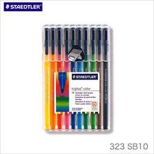 Staedtler Triplus Color Fiber Tip Pen Assorted Water Based Ink 323SB10