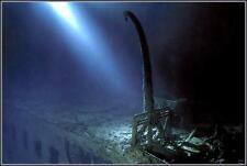 Poster Print: Titanic Wrecksite:  The #1 Forward Lifeboat Davit