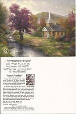 "Thomas Kinkade,""STREAMS OF LIVING WATER"" Two (2) Postcards , NEW"