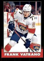 2020-21 UD O-Pee-Chee Retro Black Border 142 Frank Vatrano /100 Florida Panthers