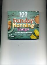 100 HITS - SUNDAY MORNING SONGS - BELINDA CARLISLE BANGLES DIDO - 5 CDS - NEW!!