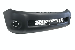 Front Bumper Bar Cover W/O Flare Holes For Toyota Hilux TGN/KUN/GGN (2008 -2011)
