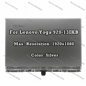 """Lenovo Yoga 920-13IKB 80Y7 13.9"""" FHD LCD Display Touch Screen Complete Assembly"""