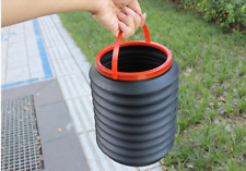 Garden Small Plastic Bin Composter Recycle Kitchen Waste Very Handy Folding Bin