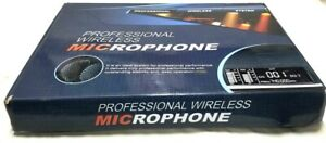 Professional Wireless Microphone System Karaoke Cordless Handheld Mic Golden