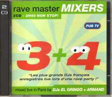Compilation - Rave Master Mixers 3 + 4 (2 CD) - 1993 - DJ's Master Mix Fairway