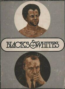 Blacks & Whites Game Psychology Today Version in Box & Magazine Version set of 2
