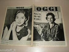OGGI=1958/10=RANDOLFO PACCIARDI=GABRIELE FERZETTI=NEGROTTO CAMBIASO=DANOVA MILAN