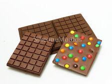 2 Celular gran losa Bar 275g Chocolate Candy Chocolatier Artisan Silicona Molde