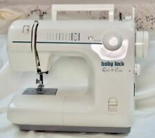 1996 Baby Lock Quilt N' Craft sewing machine w/ accessories, manual, pedal works