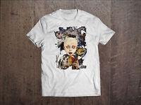 KORN Band Men White T-shirt Metal Band Fan Tee Rock Band Shirt