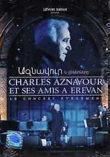Charles Aznavour et Ses Amis - À Erevan: Le Concert Evènement, (PAL Video)NEW