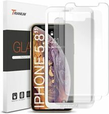 Trianium (3 Packs) Screen Protector Designed for Apple iPhone 11 Pro XS 2019