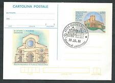 1986 ITALIA CARTOLINA POSTALE COSENZA FDC - 4