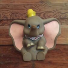 Vintage Walt Disney Productions Vinyl Dumbo Squeaky Toy