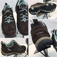 L.L. Bean Waterproof Hiking Shoes 9 Wide Brown Primaloft Worn Once  YGI D9S-27