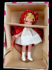 Vintage 1930s Nancy Ann Storybook Doll Bisque Red Riding Hood White Boots