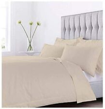 100% EGYPTAIN Cotton 1-Piece KING/CALIFORNIA KING Duvet Cover Ivory New