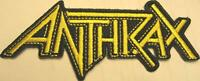 ANTHRAX AUFBÜGLER / EMBROIDERY PATCH #11 LOGO - 11x4cm