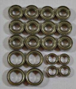Kugellager für Tamiya  TT-01 für Antrieb und Lenkung TT01  Tuning-Set 20 Lager