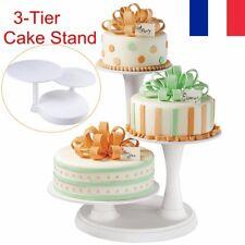Présentoir Support à Gâteau a etage 3 Couches Tournant Décoration Mariage Fête