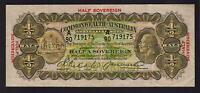 Australia R-7. (1928) Riddle/Heathershaw - Ten Shillings.. Geo V Portrait.  gVF