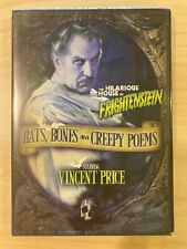 VINCENT PRICE BATS BONES & CREEPY POEMS *SEALED* NEW HOUSE OF FRIGHTENSTEIN DVD