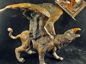 "Ray Harryhausen Griffin Vinyl Figure, 8"" Fantasy Monster Mythology, Sinbad"
