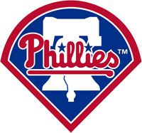 Philadelphia Phillies MLB Color Die-Cut Decal / Yeti Sticker *Free Shipping