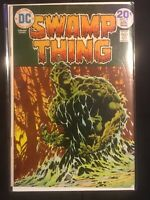 Swamp Thing #9 (Mar-Apr 1974, DC) Classic Cover By Bernie Wrightsom