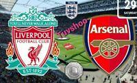 COMMUNITY SHIELD 2020 FA Liverpool v Arsenal 29/8/2020! PRE-ORDER!!!