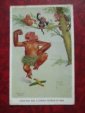 Vintage Postcard Lawson Wood Granpop Has A Little Scotch In Him Orignal fc9c