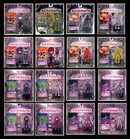 NEW Micronauts Microman Palisades 2002 Series 1 Complete Set of 16 MOC Case MOC