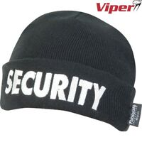 VIPER SECURITY BOB HAT DOORMAN BOUNCER WORK GUARD BEANIE THINSULATE WORKWEAR