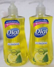 Dial AntiBact Liquid Hand Soap Lemon Sage Kills 99.9% -Lot of 2 - 11 oz Each NEW