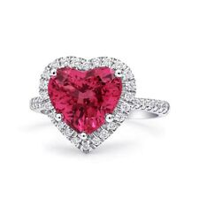 Natural Unheated Spinel 3.90 carats set in Platinum Ring