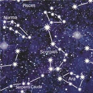 Out of this World Constellation By the yard x 43 inches Northcott cotton
