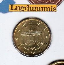Allemagne 2005 10 Centimes G Karlsruhe FDC provenant coffret 85000 exemplaires