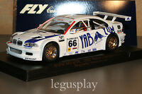 Slot car SCX Scalextric Fly 88013 BMW M3 GTR 2001 Belcar Championship A-286