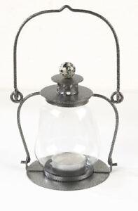 Garden Lantern - Antique Silver