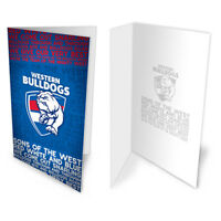Western Bulldogs AFL Team Song Musical Greeting Card Birthday Christmas Gift