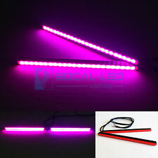 "SOCAL-LED 6.5"" Pink Mini LED DRL Bar 24 SMD 5630 Waterproof Bright Light Strips"