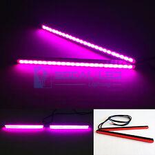 "SOCAL-LED 6.5"" Pink Mini LED DRL Bar 24 SMD 5630 Waterproof Bright Light Strips"