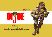 GI Joe Vintage 1964 Poster A4 Size Shop Sign Advert Leaflet - magnificent!