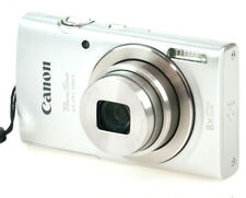 Canon PowerShot ELPH 180 20.0MP 8x Optical Zoom Digital Camera Silver No Charger