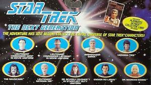 Next Generation Foes & Friends Loose Figures, Bases & Accs. Star Trek Pla 1994-7