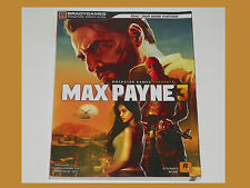 Max Payne 3 Video Game Strategy Guide PS3 XBOX 360 PC Cheats PlayStation NEW