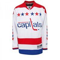 NHL Trikot Washington Capitals blank weiß Premier Eishockey Jersey